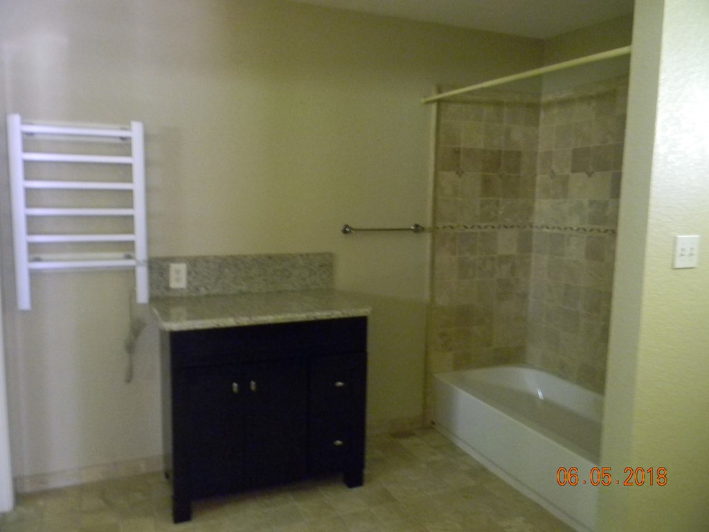 Master Bath with a towel warmer is alway a plus.