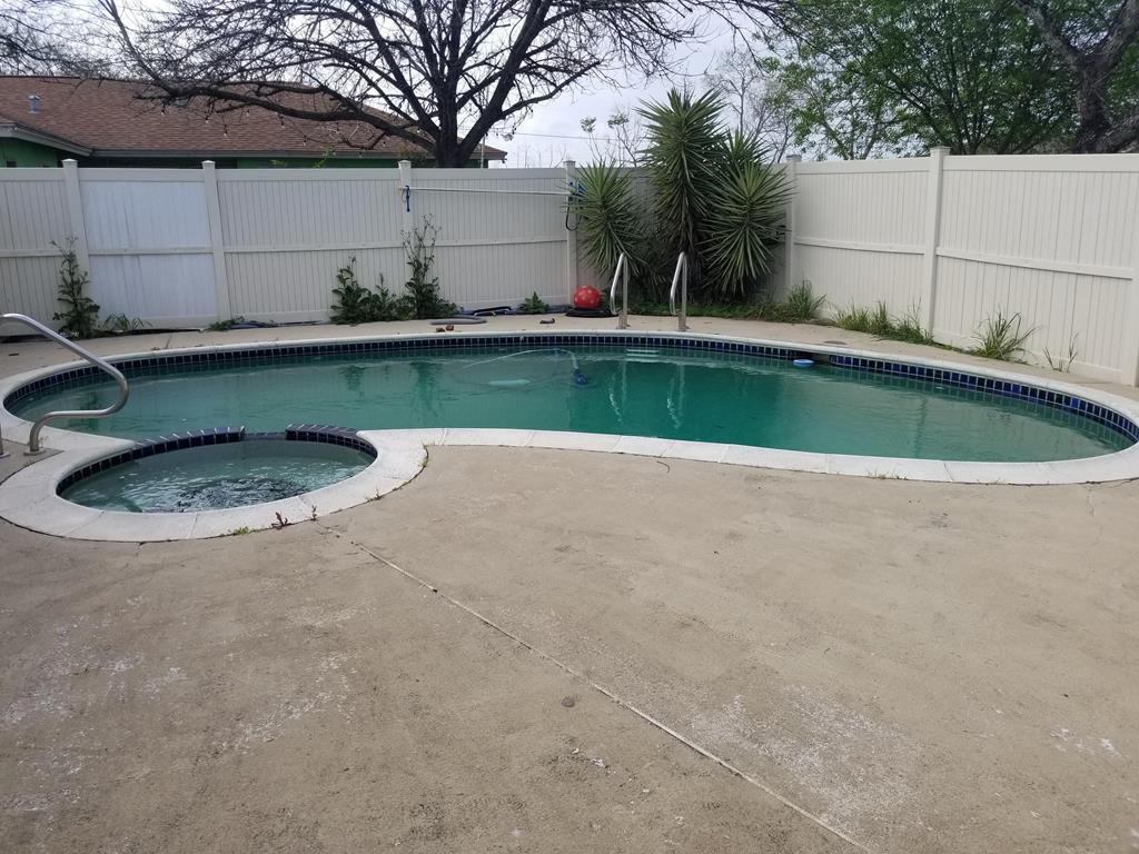 Patio and Swimming Pool.